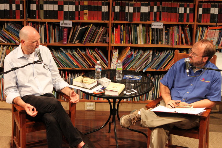 2010 Book Festival: Eric Papenfuse interviews Jackson Taylor, author of THE BLUE ORCHARD